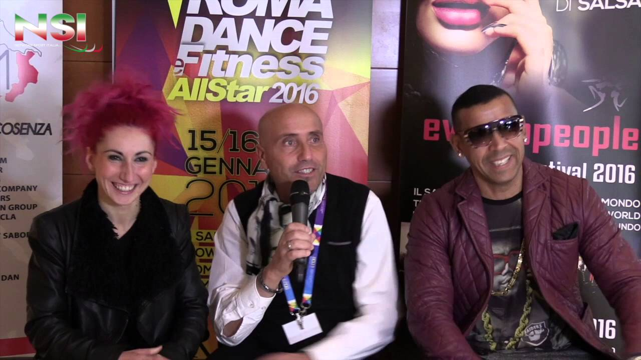ROMA DANCE ALL STAR – LE INTERVISTE: GASPAR E SIMONA
