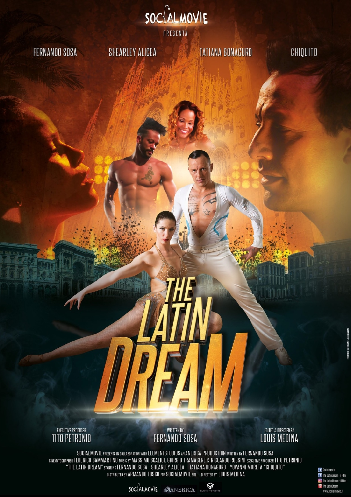 The Latin Dream (press book) (IV5MQ)1