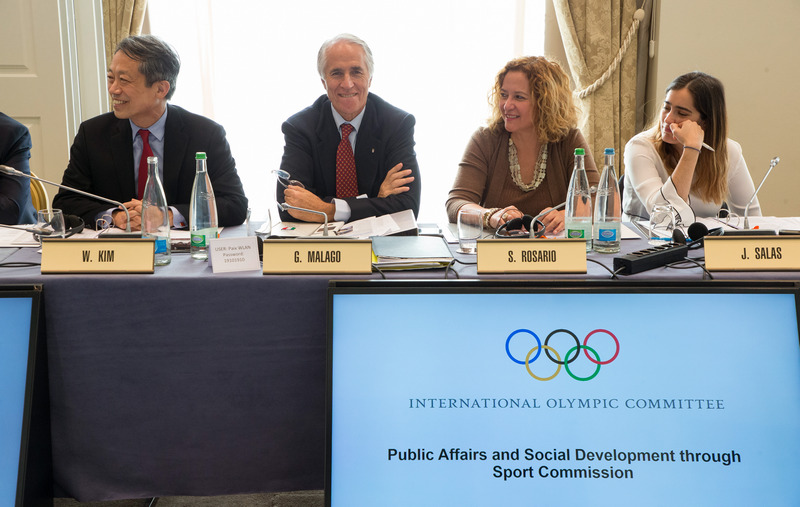 LAUSANNE | SWITZERLAND  2017 IOC COMMISSIONS - PUBLIC AFFAIRS AND SOCIAL DEVELOPMENT   IOC | Greg Martin